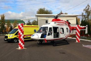 В Закарпатье тяжелых больных будут перевозить на медицинском вертолёте