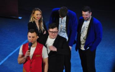 В Ужгороде состоялись два концерта шоу «Лига Смеха»