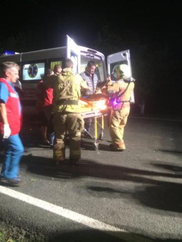 В Закарпатье среди ночи произошло жуткое ДТП с пострадавшими