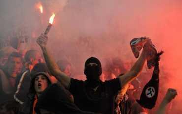 В Харькове произошла массовая драка футбольных фанатов