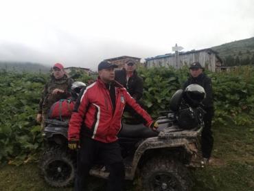 В Закарпатье пошли четвертые сутки поиска пропавшего парня