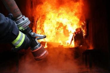 В центре Мукачево утром случился пожар