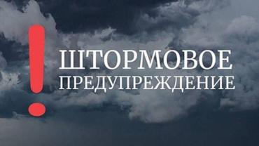 В Закарпатье синоптики объявили штормовое предупреждение