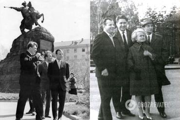 Гагарин в Киеве : Сегодня празднуем былое величие государства УССР