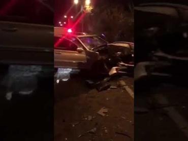 Разрушительное ДТП на Закарпатье: Оба автомобиля разнесло в пух и прах