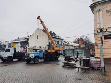 Известно, в каком городе на Закарпатье уже устанавливают популярное зимнее развлечение