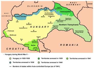 14 березня 1939 року Угорщина почала окупацію Закарпаття
