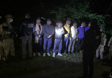 Нелегалы без перебоя атакуют границу в Закарпатье