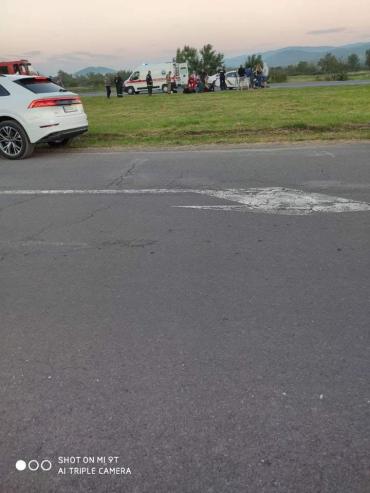 ДТП с патрульными в Закарпатье: Пострадали трое полицейских и один гражданский