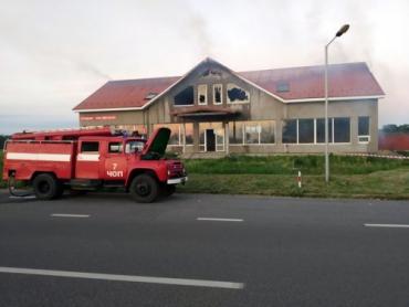 Все подробности о большом пожаре на венгерской границе в Закарпатье