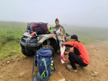 Молодая туристка из Львова попала в неприятную ситуацию на Закарпатье