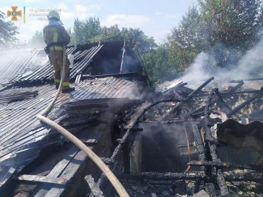 В Закарпатье пожар распространился на несколько квартир сразу
