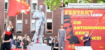 В Западной Германии не было до сих пор ни одного бюста или статуи Ленину