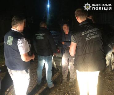 В Закарпатье начальник УЗЭ Нацполиции задержал недобросовестного работника лесного хозяйства