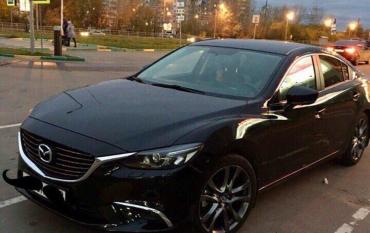 В Закарпатье пламя уничтожило автомобиль «Mazda 6»