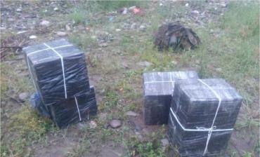 Ночью пограничники на Закарпатье задержали табачных контрабандистов