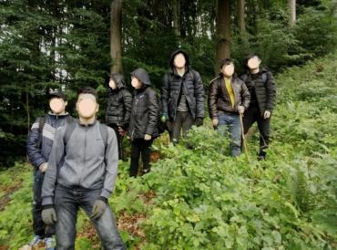 Восемь граждан Вьетнама задержаны на Закарпатье