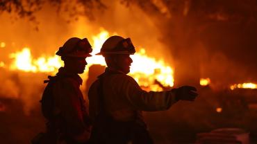 В Закарпатье жилой дом охватил бушующий огонь