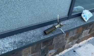 """Полиция расследует обстрел из гранатомёта """"Аква Сити"""" в Мукачево по странной статье"""