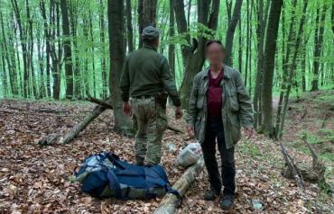 В лесах Закарпатья нашли немецкого шпиона