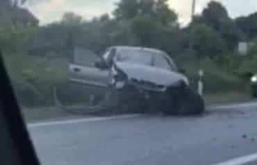 ДТП в Закарпатье: Если после такого удара обошлось без пострадавших, то это будет чудо