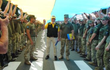 128 бригада из Закарпатья установила абсолютный рекорд Украины