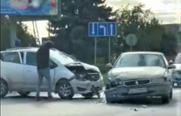 При въезде в Мукачево произошла авария