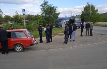 В Мукачево на перекрестке двух улиц авария