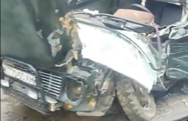 Масштабное ДТП на трассе в Закарпатье: Из разбитого автомобиля вырезали людей