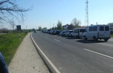 В Закарпатье на границе начался праздничный переполох