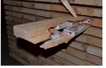 Полиция Словакии показала изобретательность контрабандистов из Закарпатья