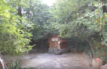 Что достали со дна колодца в Ужгороде, в котором накануне неизвестные покрасили воду