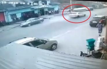 В Закарпатье смертельный обгон попал сняли видеокамеры