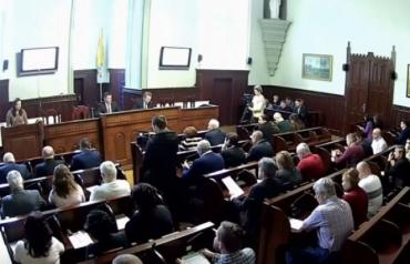 Срочная сессия горсовета в Мукачево: Мэр Балога обратился к Президенту Украины