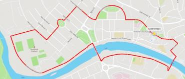 В центре Ужгорода перекроют почти все улицы