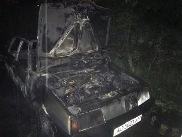 Известны детали утреннего поджога машины чиновника в Ужгороде