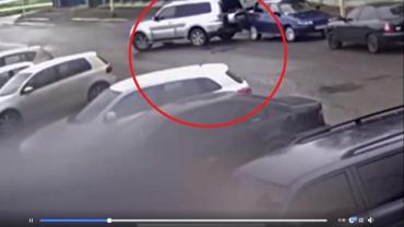 В Закарпатье просит помочь найти свидетелей дерзкой аварии