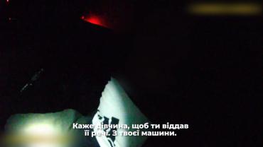 В Закарпатье горе-водитель убегал от патрульных на всех парах
