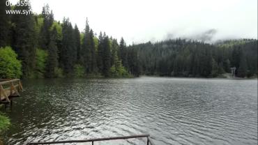 Что стало с озером Синевир в Закарпатье после сильнейших ливней