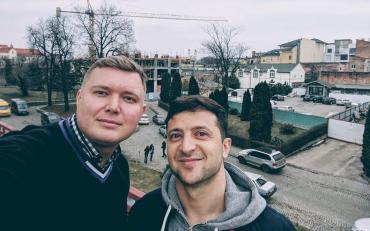 Игорь Кривошеев и Зеленский