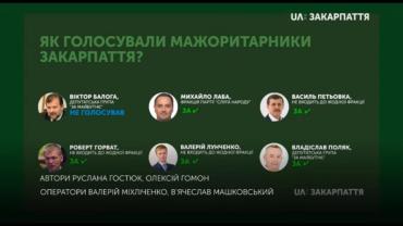 Как депутаты из Закарпатья голосовали за острочку штрафов для евроблях