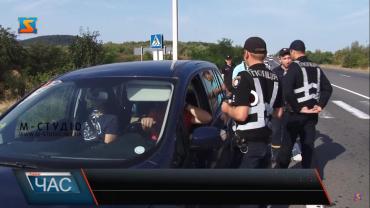 """В Закарпатье копы устроили водителям проверку на трассе """"Киев-Чоп"""""""