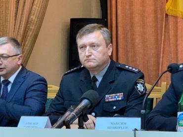 Как выглядит новый начальник полиции в Закарпатье