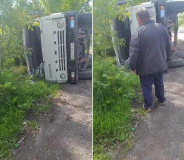 """В Закарпатье грузовик оказался """"заложником"""" ситуации"""