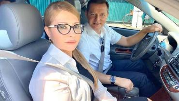 Юля из политики переходит в VIP-эскорт Ляшка
