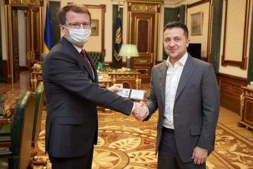 Зеленский назначил нового губернатора Закарпатья