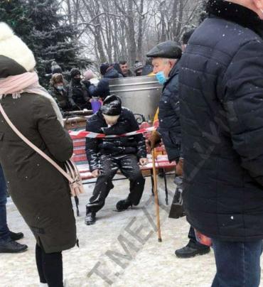 Мы уже в Европе?: Во Львове пенсионер насмерть замерз пока ждал бесплатную еду