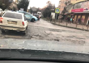 В Ужгороде может уже сделают что-то для безопасности водителей?