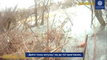 Дикая ситуация в Мукачево: Мужчина с собакой провалился под лёд