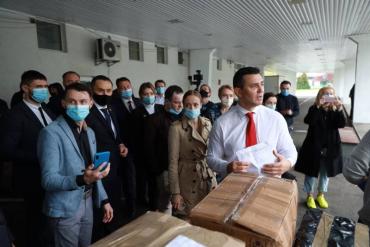 Тищенко начал утро со скандала на Закарпатской таможне